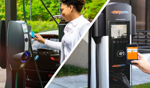 Global partnership between EVBox and ChargePoint